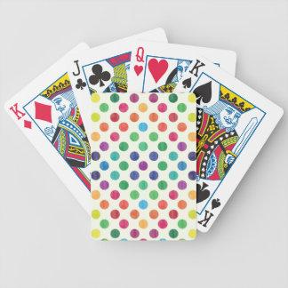 Reizendes Punkt-Muster III Bicycle Spielkarten