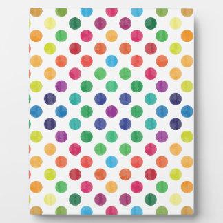 Reizendes Punkt-Muster III Fotoplatte