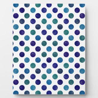 Reizendes Punkt-Muster IV Fotoplatte