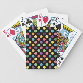Reizendes Punkt-Muster IX Bicycle Spielkarten