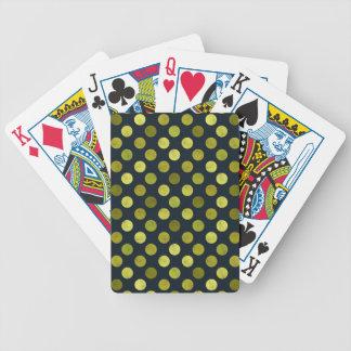 Reizendes Punkt-Muster V Bicycle Spielkarten
