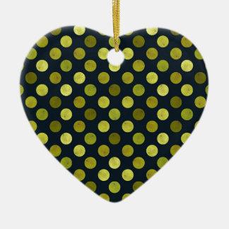 Reizendes Punkt-Muster V Keramik Ornament