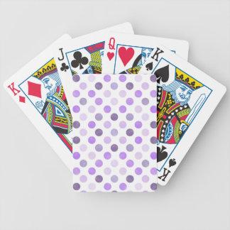 Reizendes Punkt-Muster VI Bicycle Spielkarten