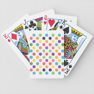 Reizendes Punkt-Muster VIII Bicycle Spielkarten