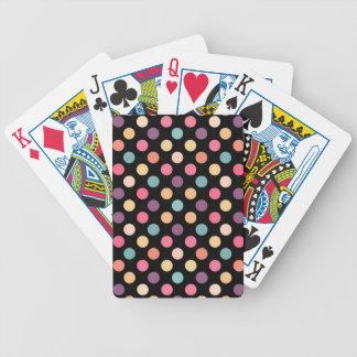 Reizendes Punkt-Muster XII Bicycle Spielkarten
