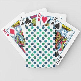 Reizendes Punkt-Muster XIV Bicycle Spielkarten