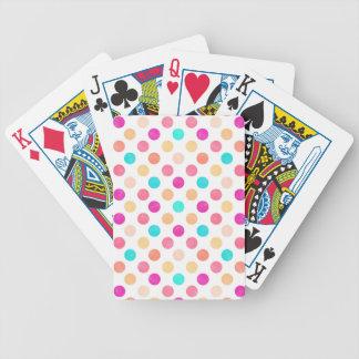 Reizendes Punkt-Muster XVI Bicycle Spielkarten
