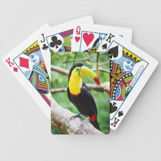 Reizendes Toucan Bicycle Spielkarten