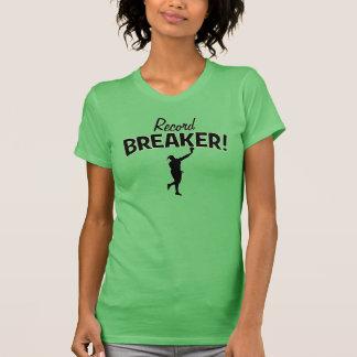 Rekordunterbrecher! Schuss gesetzter Throw-T - T-Shirt