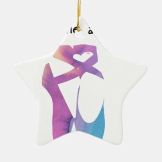 Releve 1 keramik Stern-Ornament