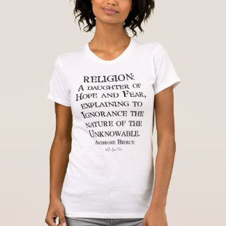 Religion durch Ambrose Bierce T-Shirt