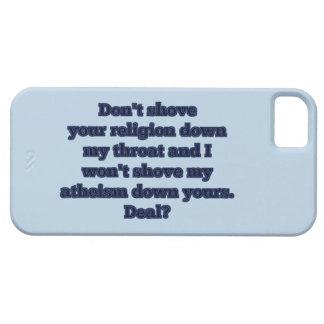 Religion GEGEN Atheismus, Teil 2 Schutzhülle Fürs iPhone 5
