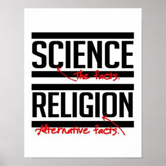 Religion ist eine alternative Tatsache - - Poster