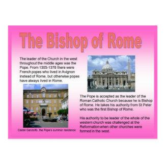 Religion, römisch-katholisch, Bischof von Rom Postkarten