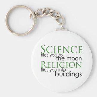 Religion und Wissenschaft Schlüsselanhänger