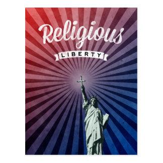 Religionsfreiheit Postkarte