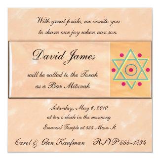 Religiös, Bar Mitzvah, Schläger Mitzvah Einladung