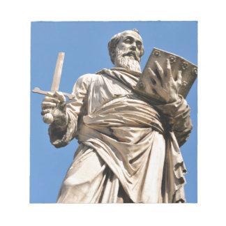 Religiöse Architektur in Vatikan, Rom, Italien Notizblock
