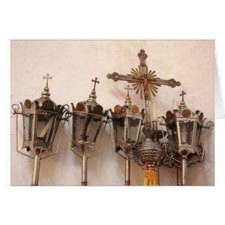 Religiöse Artefakte Grußkarte