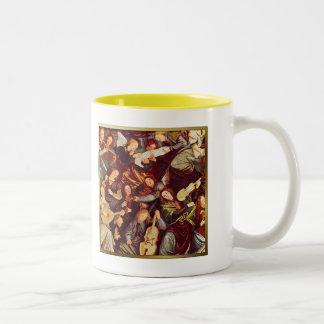 Religiöse feine Kunst-Weihnachtsgeschenk-Tasse Zweifarbige Tasse