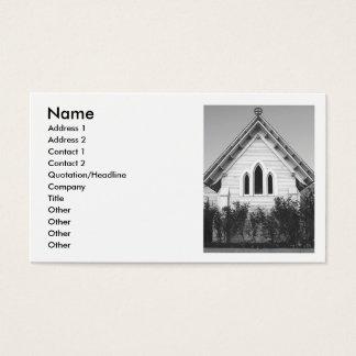 Religiöse Kirchen-Visitenkarte Visitenkarte