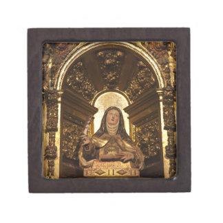 Religiöse Kunst, die Sankt Teresa 2 darstellt Kiste