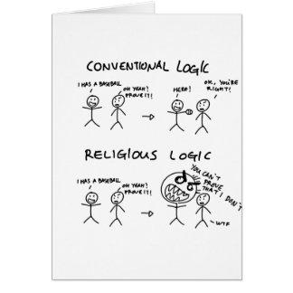 Religiöse Logik Karte