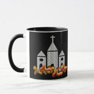 Religiöse Nüsse Tasse