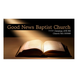 Religiöse Religions-christliches Visitenkartenvorlagen