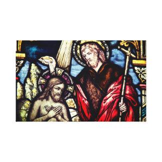 Religiöse Taufe-Sakrament-Leinwand Leinwanddruck