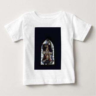 Religiöses Buntglas-Fenster Baby T-shirt