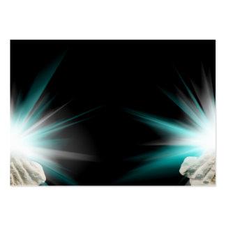 Religiöses Licht in schalenförmigem Visitenkartenvorlage