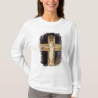 Reliquarykruzifix, Elfenbein Christus auf T-Shirt