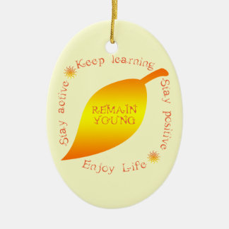 Remain Young Christmas Ornament for Mom
