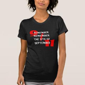 Rember erinnern sich das an 11. vom 9. September T-Shirt
