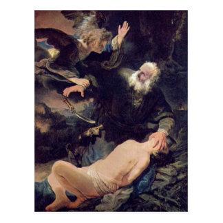 Rembrandt Harmenszoon van Rijn Rembrandt 1606-07-1 Postkarte