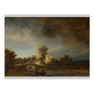 Rembrandtsteinbrücke Postkarte