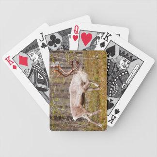 Ren, das in Wald geht Bicycle Spielkarten