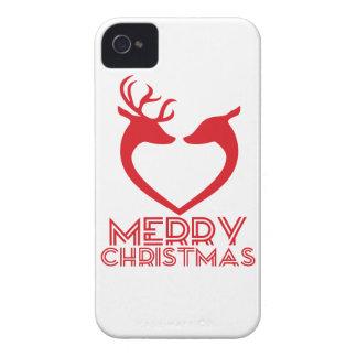 Ren-Herz iPhone 4 Case-Mate Hülle