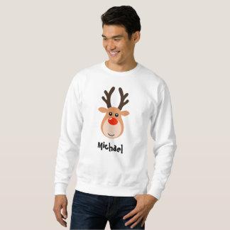 Ren mit dem Sweatshirt der Namensmänner