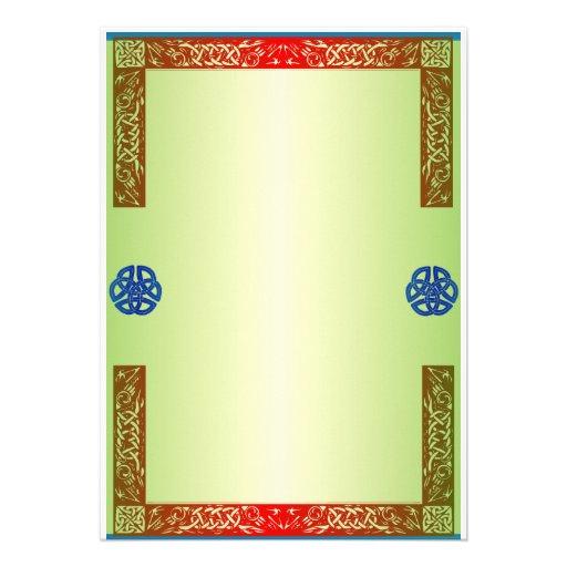 Renaisaince mittelalterliche Hochzeits-Einladung