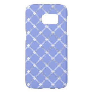 Renaissance-blaues und weißes Diamant-Muster
