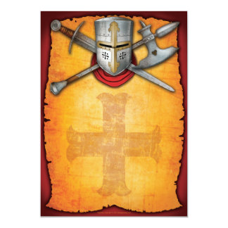 Renaissance-Einladungen 12,7 X 17,8 Cm Einladungskarte