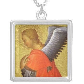 Renaissance-Engel durch Meister des Bambino Vispo Versilberte Kette