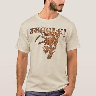 Renaissance-jonglierender Löwe T-Shirt