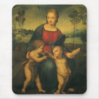 Renaissance-Kunst, Madonna des Goldfinch, RAPHAEL Mousepad