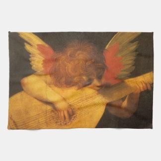 Renaissance-Kunst-Musiker-Engel durch Rosso Geschirrtuch
