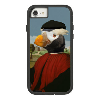 Renaissance-Papageientaucher - anthropomorpher Case-Mate Tough Extreme iPhone 8/7 Hülle