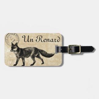 Renard (französisch für Fuchs) Gepäckanhänger