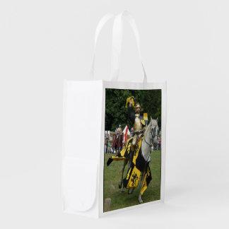 Renfest Ritter Wiederverwendbare Einkaufstasche
